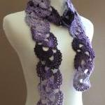Crochet Scarf Queen Annes ..