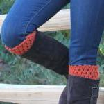 Pick Your Color Crochet Boot Socks ..