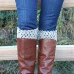 Crochet Boot Cuffs Leg Warm..