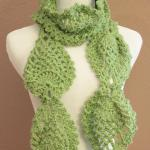 Womens Chunky Scarf Croche..