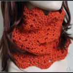 Crochet Cowl Lace Infinity..